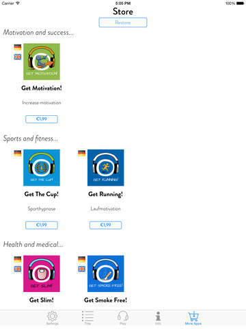 Get Moving! Motivate Yourself to Exercise by Hypnosis screenshot 10