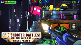 BattleBears FPS Online Multiplayer Shooting Game War screenshot 1