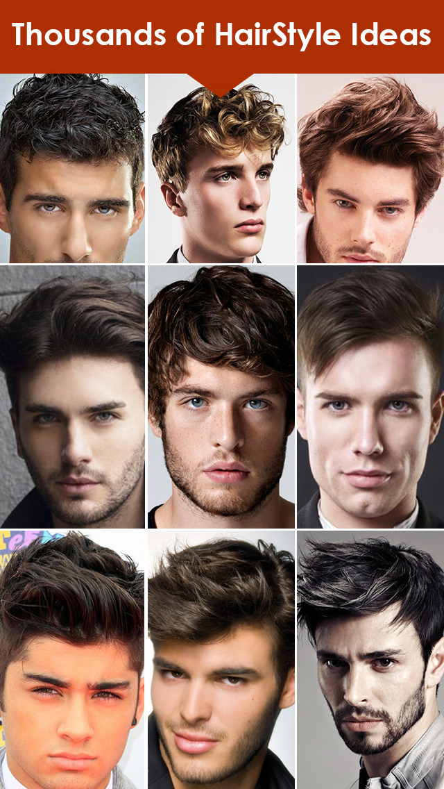 Men's HairStyles Catalog: Long & Short Beard Style screenshot 1