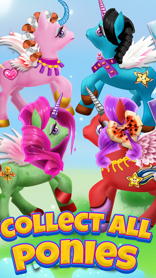 A Cute Pony Dress-Up Salon & Unicorn Fairy Makeover Spa screenshot 4