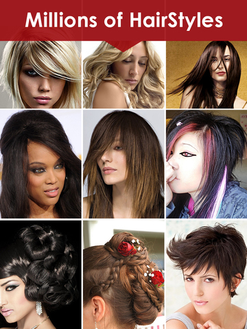 Womens Hairstyles Ideas - Girls Stylish Hair Cuts screenshot 5