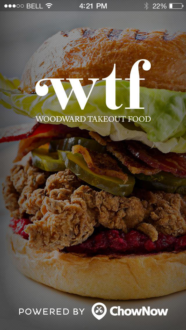Woodward Takeout Food screenshot 1