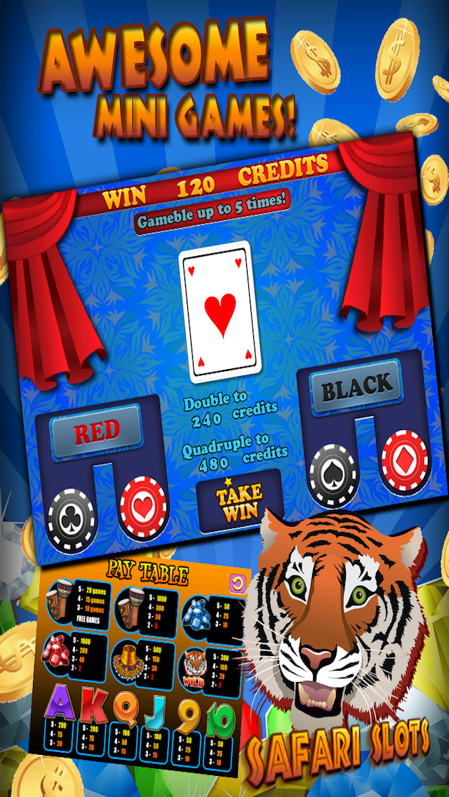 Slots Safari - Free Slot Machine Games HD screenshot 4