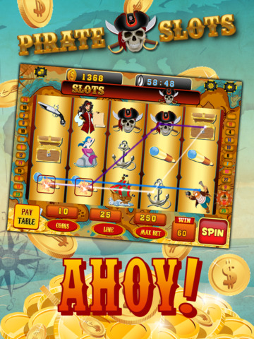 Ace Pirates Slots Casino - Lucky 777 Jackpot Journey Slot Machine Games HD screenshot 6