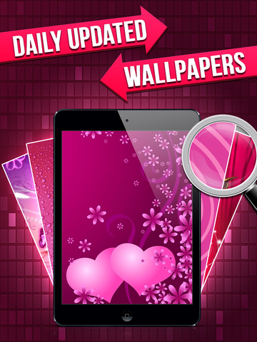 Pink Icon Skins Maker & Home Screen Wallpapers for iPhone, iPad & iPod screenshot 7