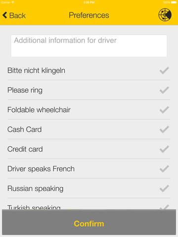taxi.eu – Taxi App for Europe screenshot #4