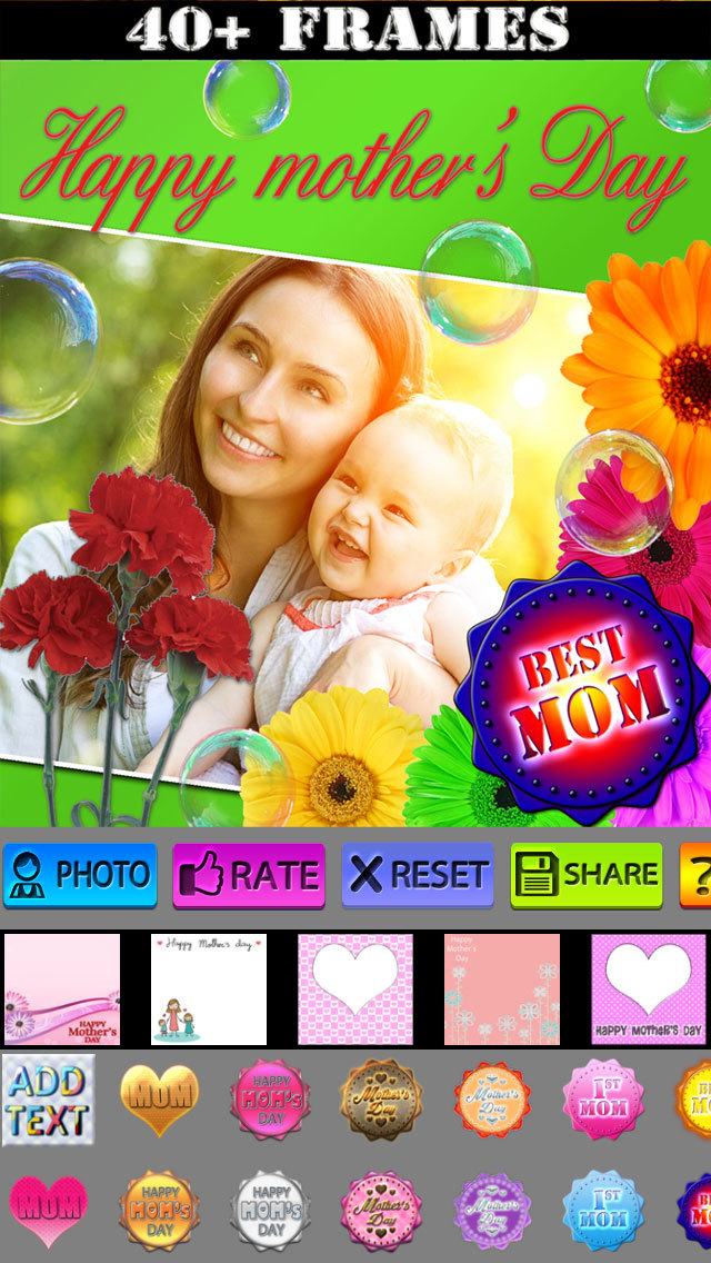 Mother's Day Frames and Labels screenshot 1