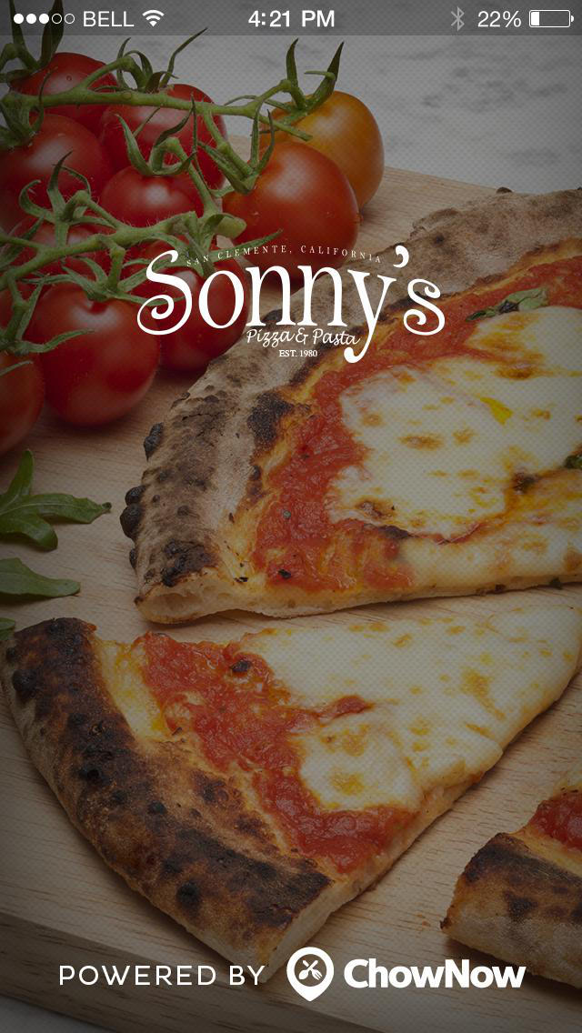 Sonny's Pizza and Pasta screenshot 1