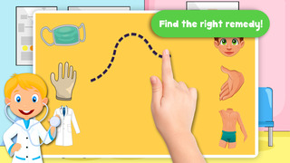 Kids Puzzle Teach me Hospital - Learn how to be a doctor or a nurse screenshot 2