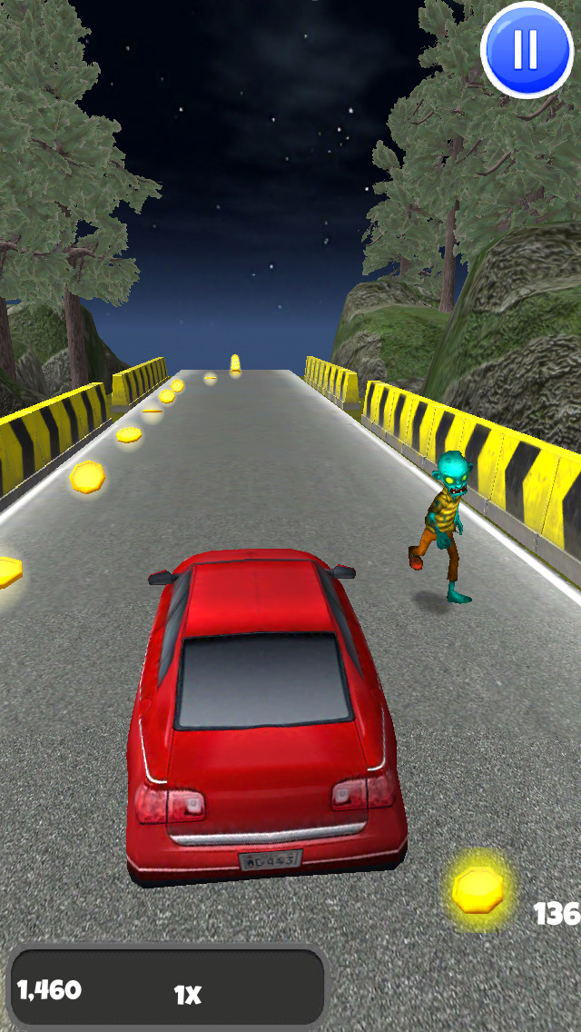 A Zombie Road 3D: Horror Highway - FREE Edition screenshot 2