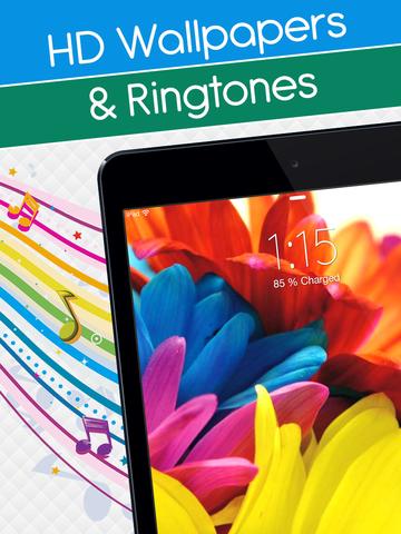 Lock Screen Wallpapers & HD Backgrounds With Ringtones & Sounds screenshot 6