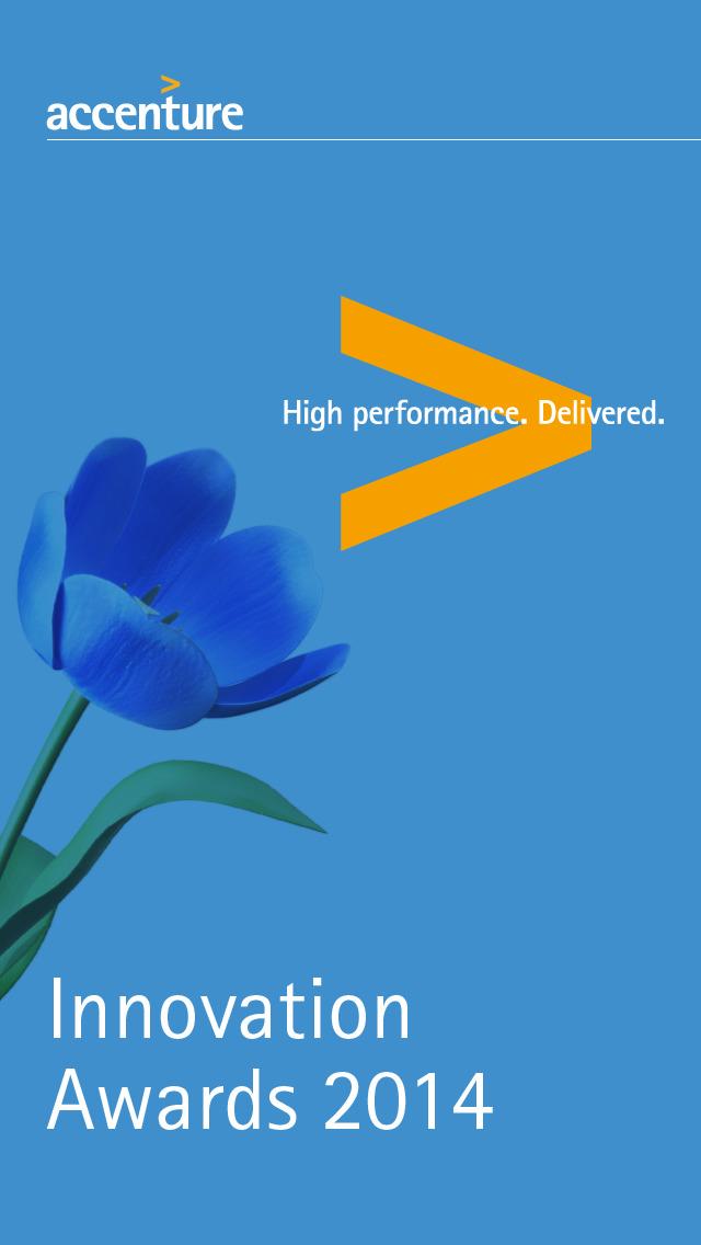 Accenture Innovation Awards 14 screenshot 1