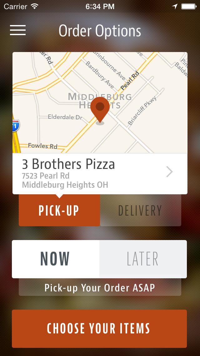 3 Brothers Pizza screenshot 2