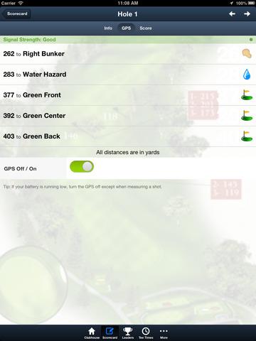 Montgomerie Links screenshot 10