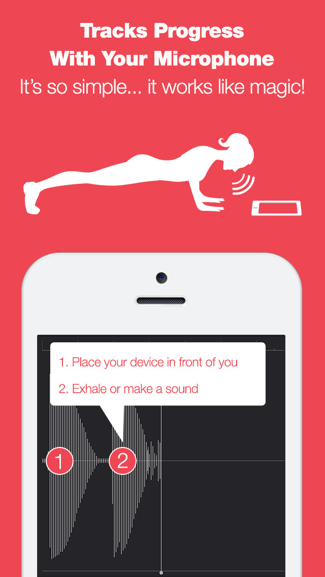 Push Ups Pro - 90 Day Workout Challenge - Get Fit in 4 Minutes Per Day with Intensive Tabata Interval Training screenshot 2