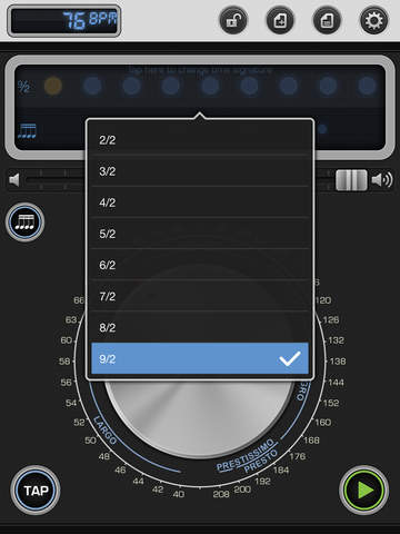 Metronome 9th: Pro Instrument for Music Practice screenshot #3