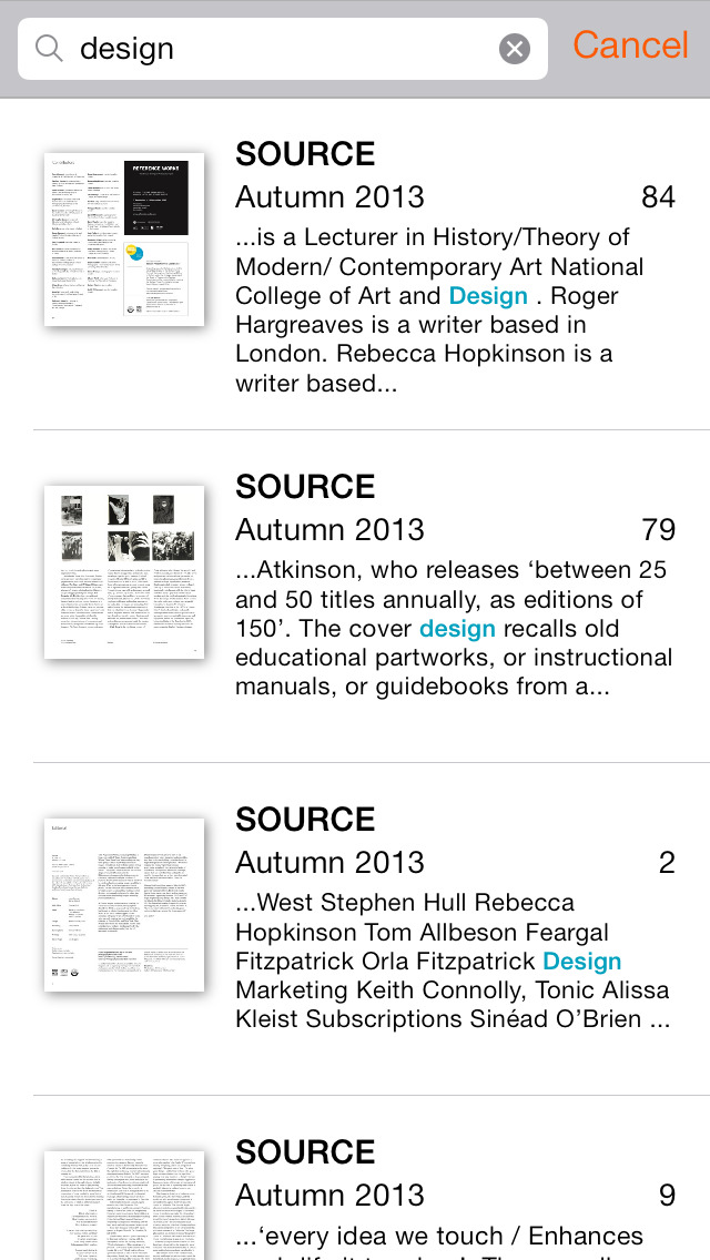 SOURCE Photographic Review screenshot 4
