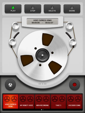 Voice Changer Pro X screenshot 6