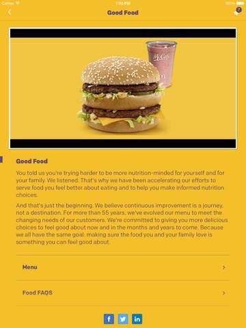 McDonald's® Ambassador screenshot 8