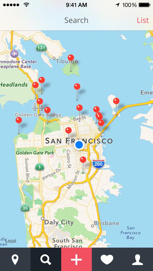 ShutterSpots: Photo Locations screenshot 2