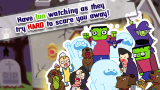 Go Away! The Haunted Mansion with Funny Monsters screenshot #4