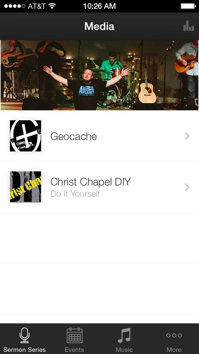Christ Chapel Zebulon screenshot 1