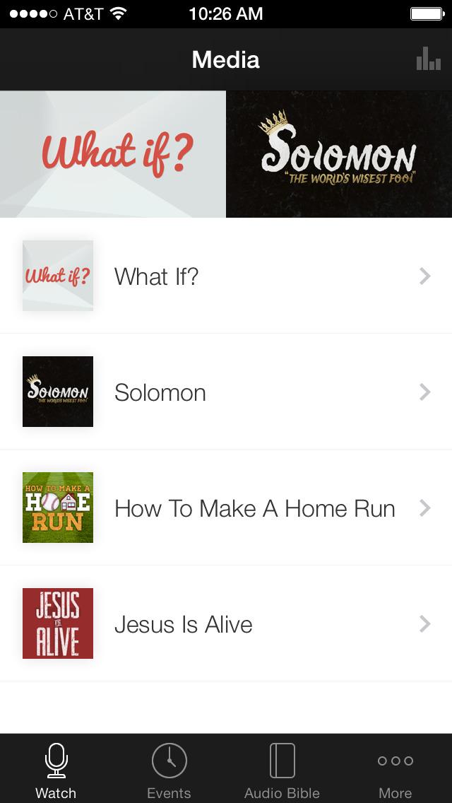 Faith Christian Family Church screenshot 1