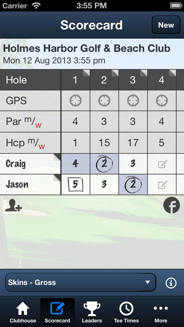 Holmes Harbor Golf Club screenshot 4
