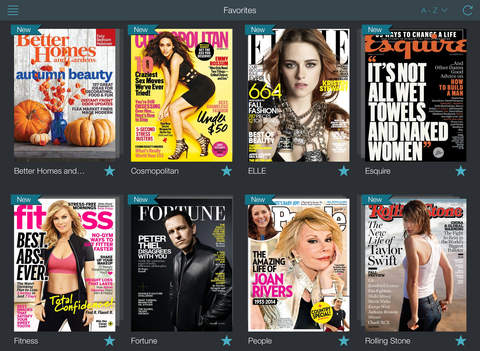 Texture – unlimited digital magazines screenshot 6