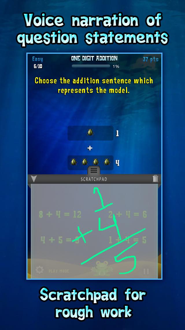 Second Grade Splash Math Common Core Learning Game screenshot 3