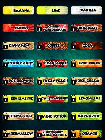 Flavored Slushie Drink Maker - cool kids smoothie drinking game screenshot 8