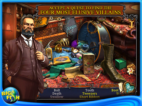 Haunted Train: Spirits of Charon HD - A Hidden Object Game with Ghosts screenshot 2