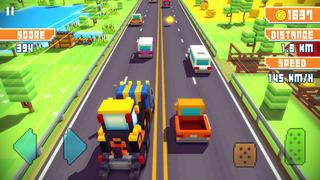 Blocky Highway screenshot 4