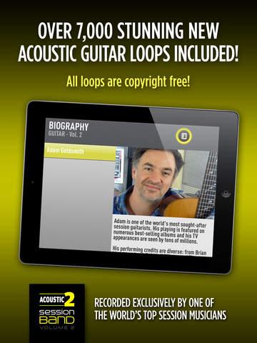 SessionBand Acoustic Guitar 2 screenshot 7