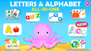 Letter quiz • Alphabet School & ABC Games 4 Kids screenshot 1