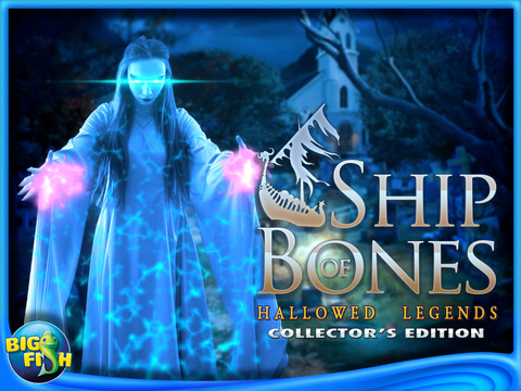 Hallowed Legends: Ship of Bones HD - A Haunted Mystery Game screenshot 5