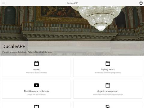 DucaleApp - náhled