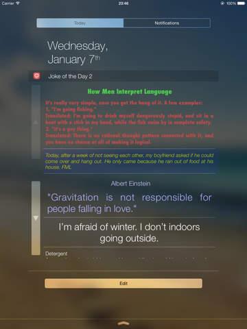 Joke of the Day Widget screenshot 7