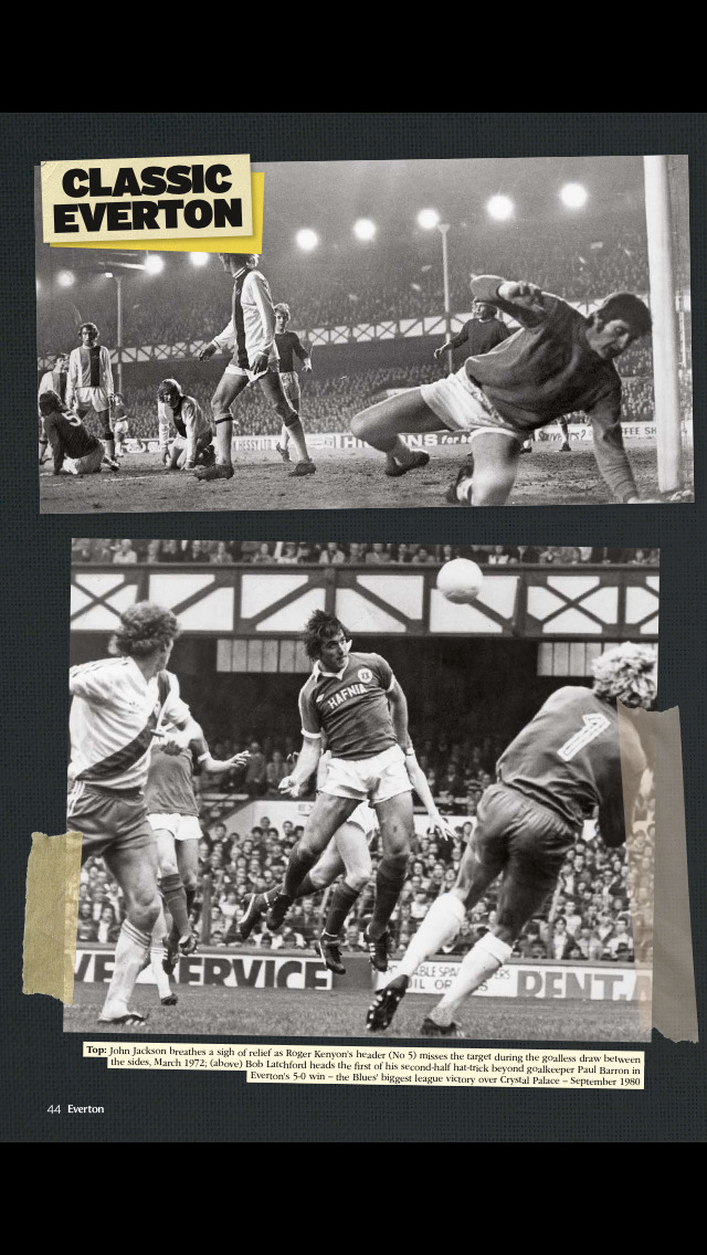 Everton Programmes screenshot 5