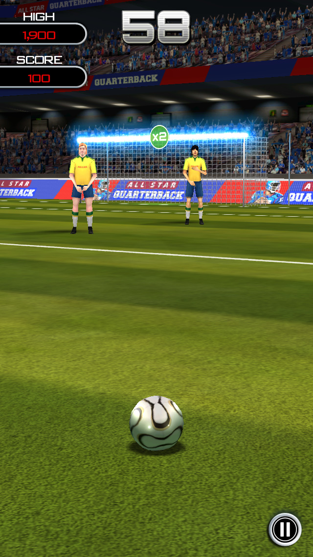 Flick Soccer! screenshot 3