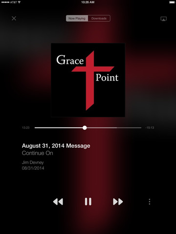 Gracepoint Church App screenshot 5