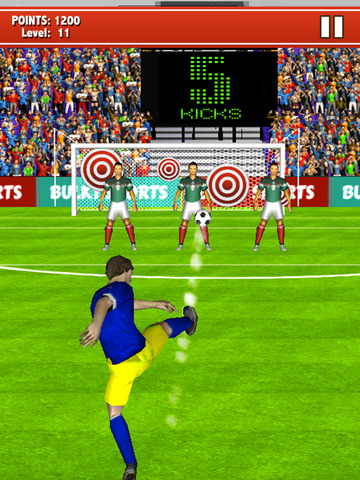 Soccer Kicks 2015 - Ultimate football penalty shootout game by BULKY SPORTS screenshot 8