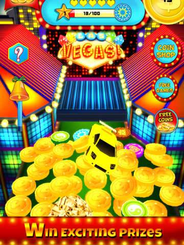 `Ace Coin Casino Dozer - Las Vegas Style screenshot 6