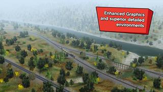Trainz Driver 2 - train driving game, realistic 3D railroad simulator plus world builder screenshot #3