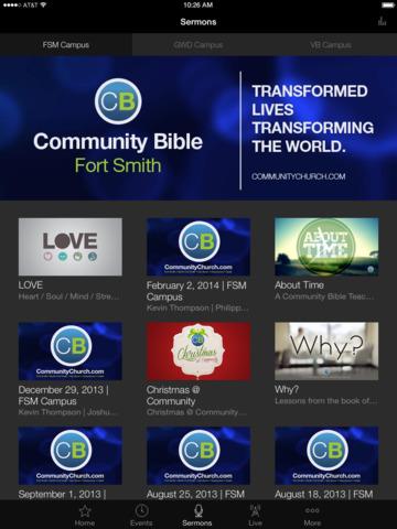 Community Bible Church screenshot 4