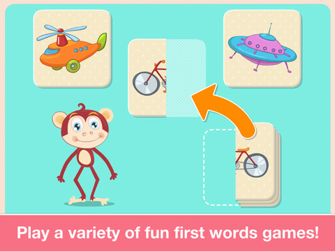 Preschool First Words Baby Toddlers Learning Games screenshot 9