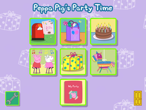 Peppa Pig's Party Time screenshot #1