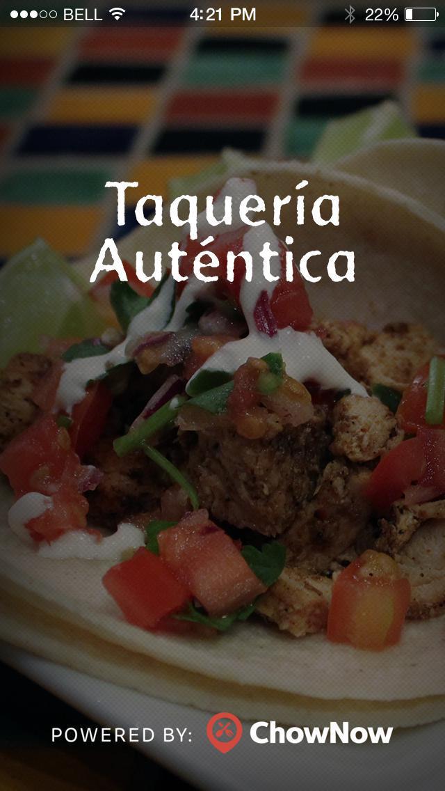 Taqueria Autentica screenshot 1