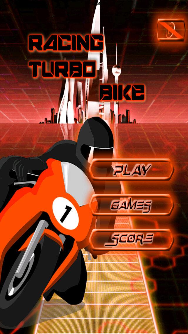Racing Turbo Bike PRO screenshot 1