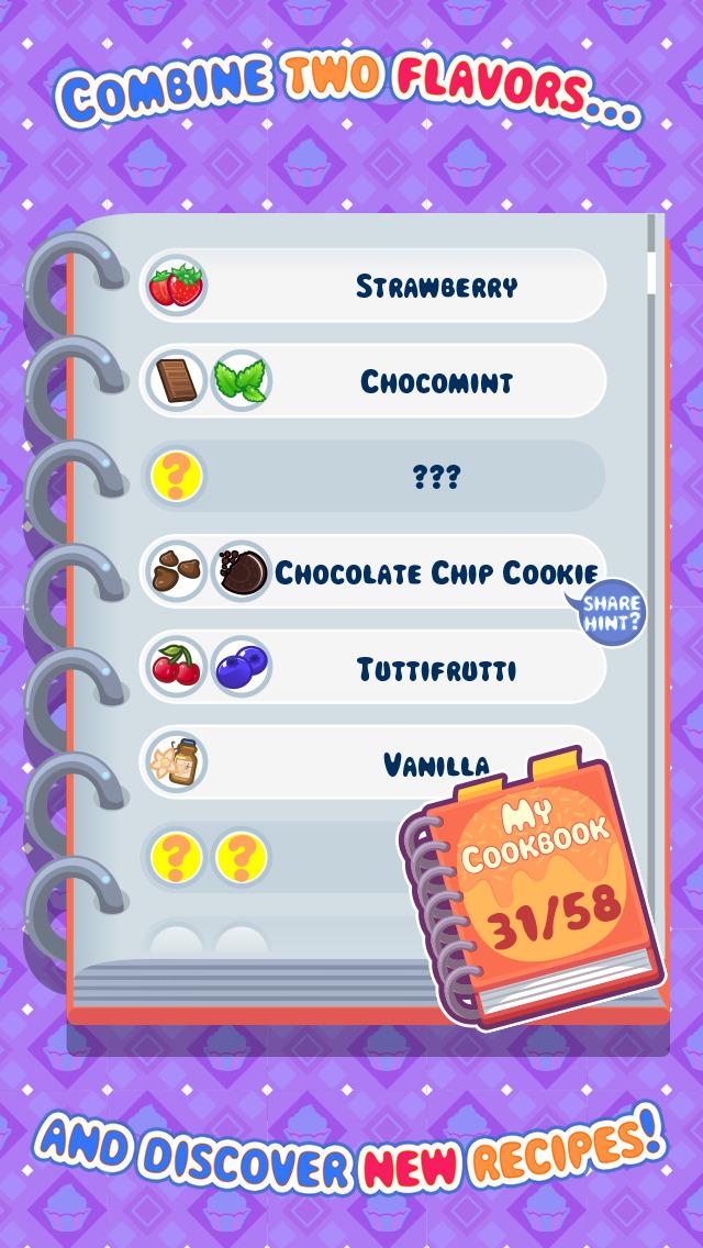 My Cupcake Maker - Create, Decorate and Eat Sweet Cupcakes screenshot #4